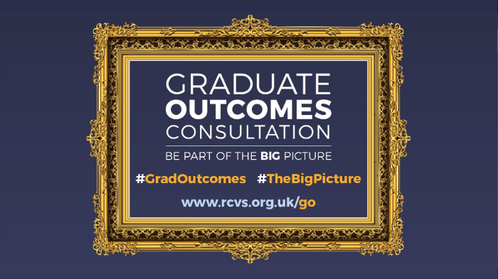 RCVS Graduates Outcomes Consultation with call to be part of the #TheBigPicture closes Friday 18 January 2019