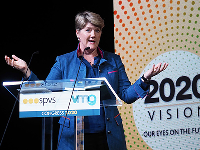 Clare Balding kicks off the 'best ever' SPVS VMG Congress 2020