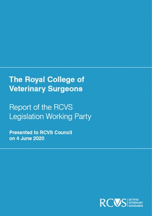 RCVS Legislative Reform: Consultation Period Extended