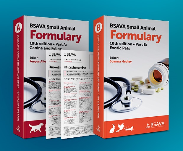 Latest edition of the BSAVA Formulary now available