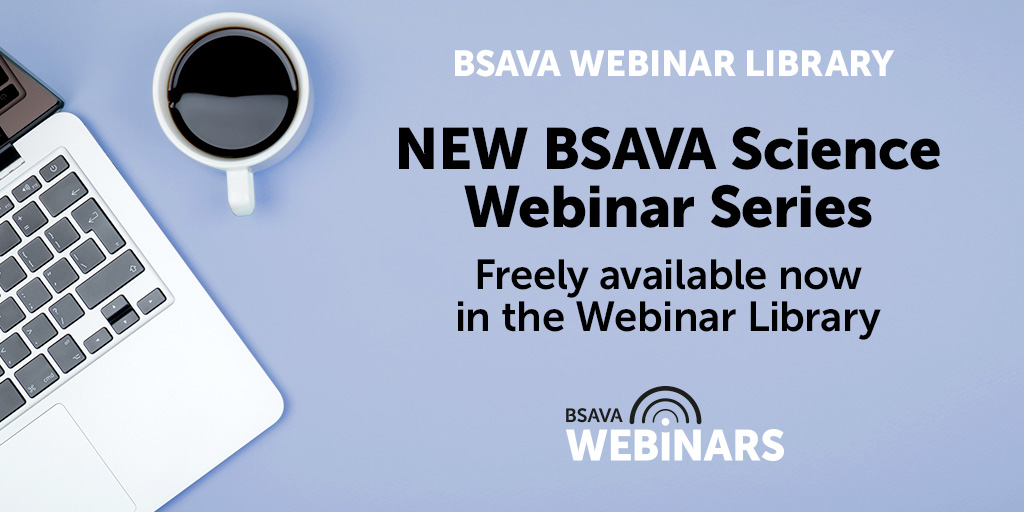BSAVA launches BSAVA Science webinar series
