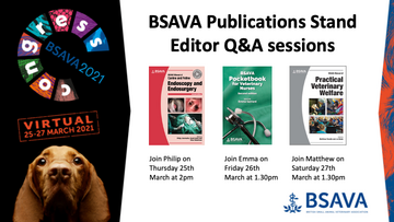 BSAVA Publications hosts editor Q&A sessions